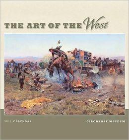 2011 Art Of The West Wall Calendar