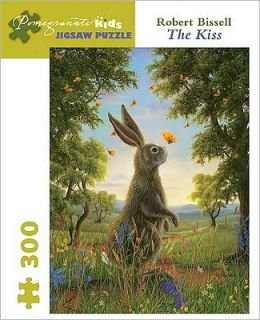 Robert Bissell: The Kiss, 300 Piece Puzzle