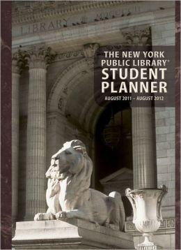 2012 New York Public Library Student Planner Calendar