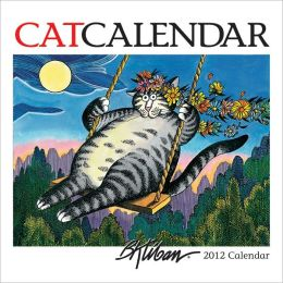 2012 B. Kliban Catcalendar Mini Wall Calendar