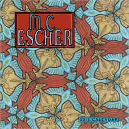 2012 Escher Mini Wall Calendar
