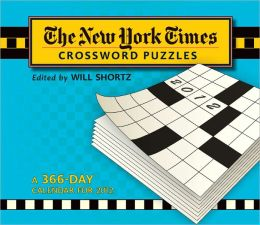 2012 New York Times Crossword Puzzles Page-A-Day Calendar