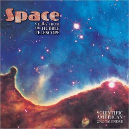 2012 Space Mini Wall Calendar