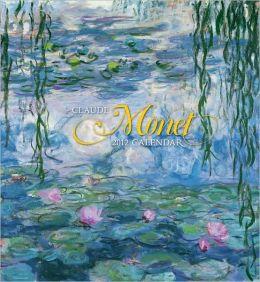 2012 Claude Monet Wall Calendar