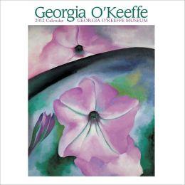 2012 Georgia O'Keeffe Mini Wall Calendar