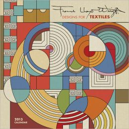 2013 Frank Lloyd Wright Designs Mini Calendar
