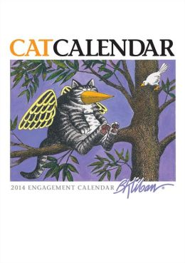 2014 Kliban/Catcalendar Engagement Calendar