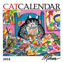 2014 Kliban/Catcalendar Mini Wall Calendar