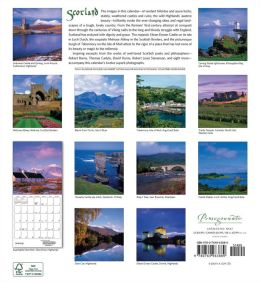2014 Scotland Wall Calendar