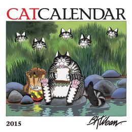 2015 Kliban Cat Mini Wall Calendar