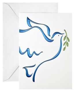 Unicef Soaring Dove Christmas Boxed Card
