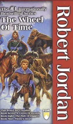 The Wheel of Time Boxed Set III: A Crown of Swords; The Path of Daggers; Winter's Heart