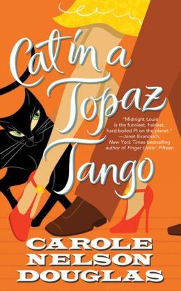 Cat in a Topaz Tango (Midnight Louie Series #21)