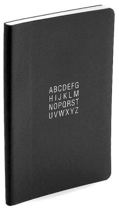 Black Soft Bound Miniature Address Book