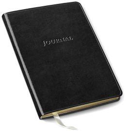 Black Bonded Leather Journal (8