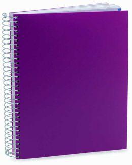 Purple Spiral Medium Miquel Rius Journal