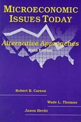 Microeconomic Issues Today: Alternative Approaches