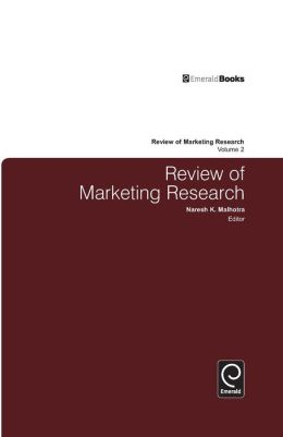 Review of Marketing Research, Volume 2