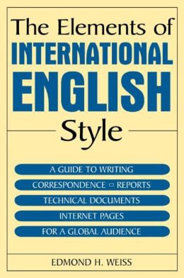 The Elements of International English Style