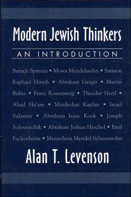Modern Jewish Thinkers: An Introduction