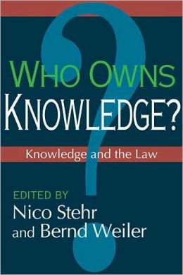 Who Owns Knowledge?: Knowledge and the Law