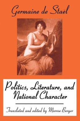 Politics, Literature, And National Character
