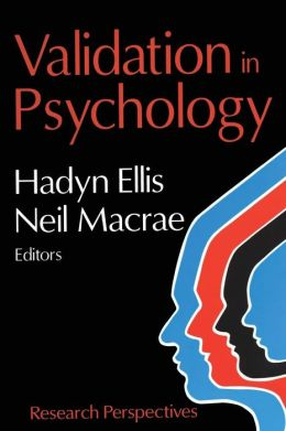 Validation in Psychology: Research Perspectives from Current Psychology