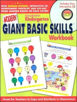 Modern Giant Basic Skills: Getting Ready for Kindergarten Workbook