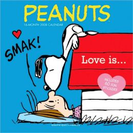 2008 Peanuts Love Is Wall Calendar