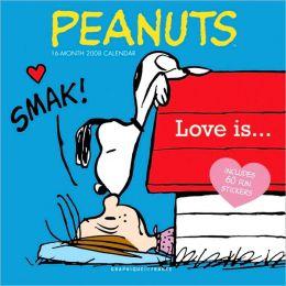 2008 Peanuts Love Is Wall Calendar