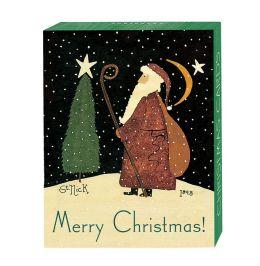 Folk St. Nick 1898 Christmas Boxed Cards