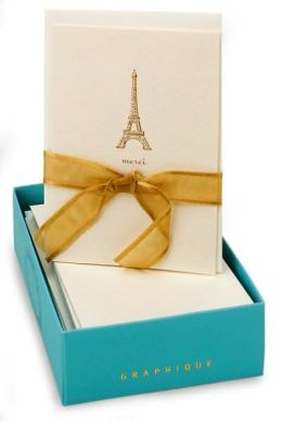 Eiffel Tower La Petite Boxed Cards Set of 10