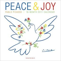 2011 Peace and Joy Picasso Wall Calendar