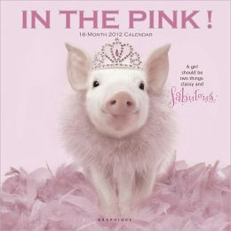 2012 In the Pink! Wall Calendar