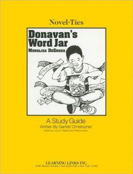 Donavan's Word Jar: A Study Guide (Novel-Ties Study Guides Series)