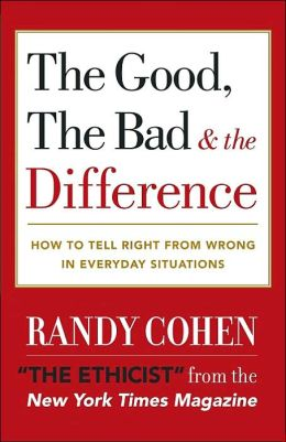 The Good, the Bad and the Difference: How to Tell the Right from Wrong in Everyday Situations