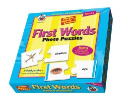 Think, Match and Learn First Words Photo Puzzles