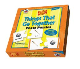 Think, Match and Learn Things That Go Together Photo Puzzles