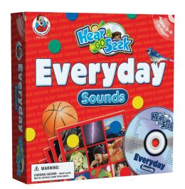 Hear & Go Seek Everyday Sounds [With Game Pieces and 12 Gameboards and CD]