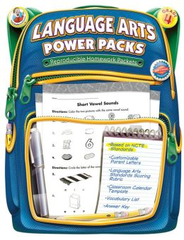 Language Arts Power Packs, Grade 4
