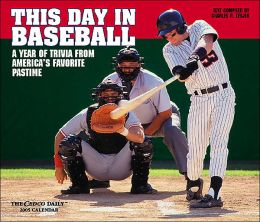 2005 This Day in Baseball Box Calendar