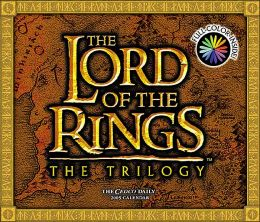 2005 Lord of the Rings Trilogy Box Calendar