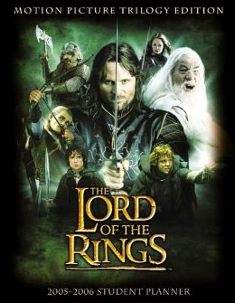 2005-2006 Lord of the Rings Student Planner
