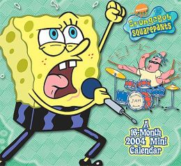 2004 Spongebob Squarepants Mini Wall Calendar
