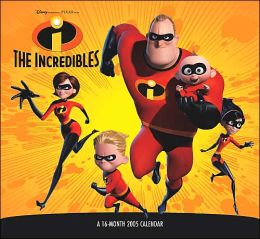 2005 Incredibles Wall Calendar