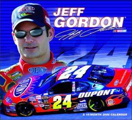 2006 Jeff Gordon Wall Calendar