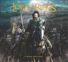 2006 Lord of the Rings Wall Calendar