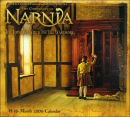 2006 Chronicles of Narnia: The Lion, the Witch, and the Wardrobe Wall Calendar