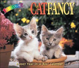 2007 Cat Fancy Box Calendar