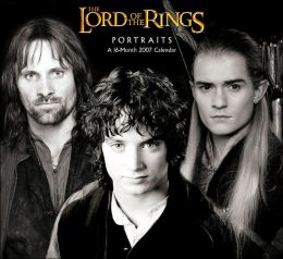 2007 Lord of the Rings Portraits Wall Calendar